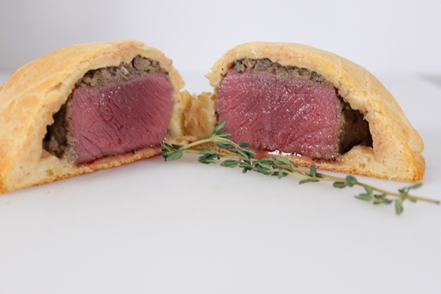 Finished Beef Wellington