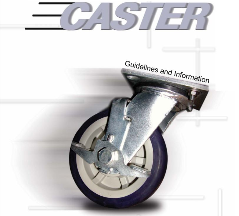 Foodservice  Equipment – How to select the right caster for you