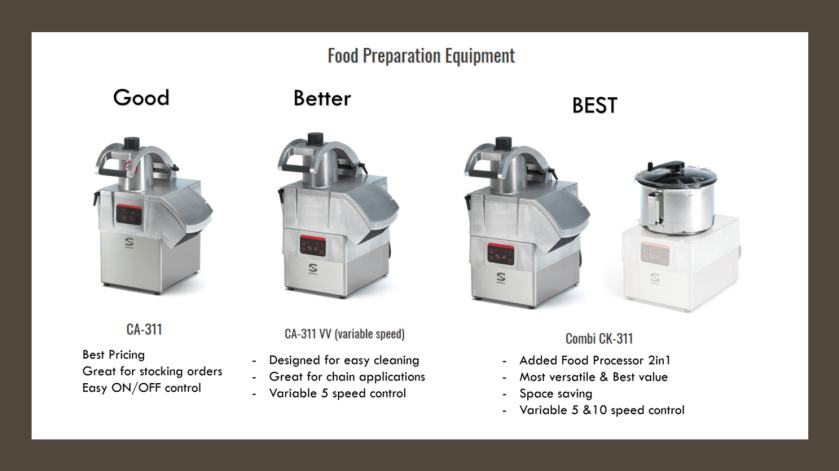 Sammic Food Preparation Equipment